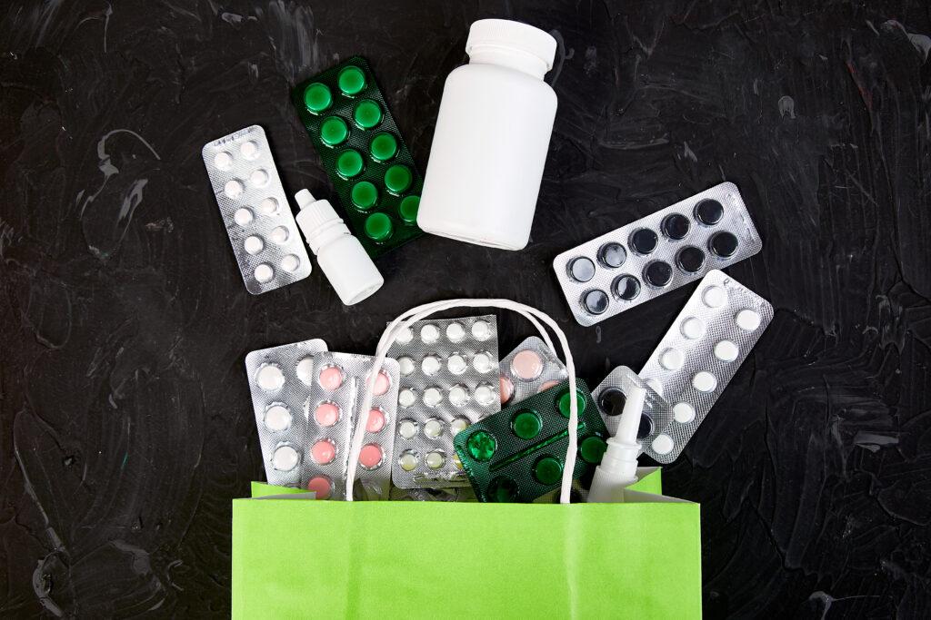 torebka z tabletkami